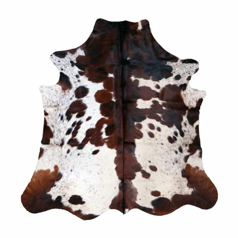 peau de vache naturelle exotique tapis en cuir nuance de noir marron. Black Bedroom Furniture Sets. Home Design Ideas