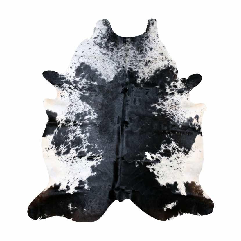 peau de vache naturelle exotique poivre et sel tapis en cuir. Black Bedroom Furniture Sets. Home Design Ideas
